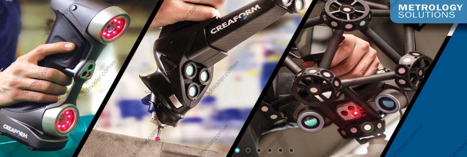 3d scanner handle