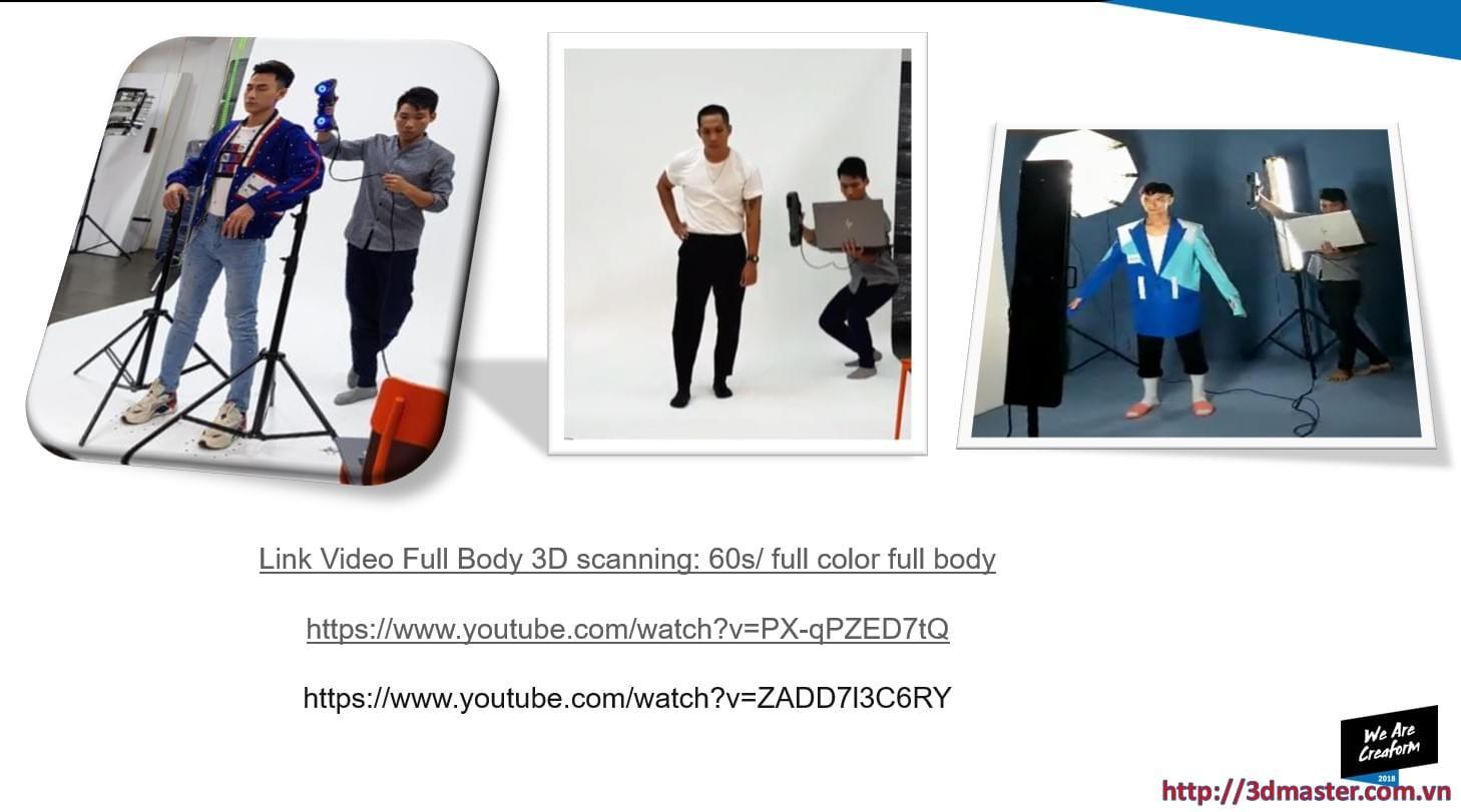 3d scanning full body fastest in Viet nam