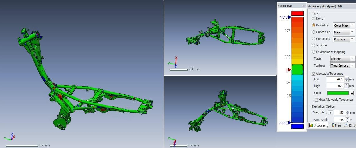 QC kiểm tra 3d thiết kế khung sắt