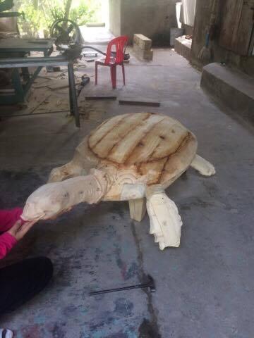 phục dựng mẫu rùa