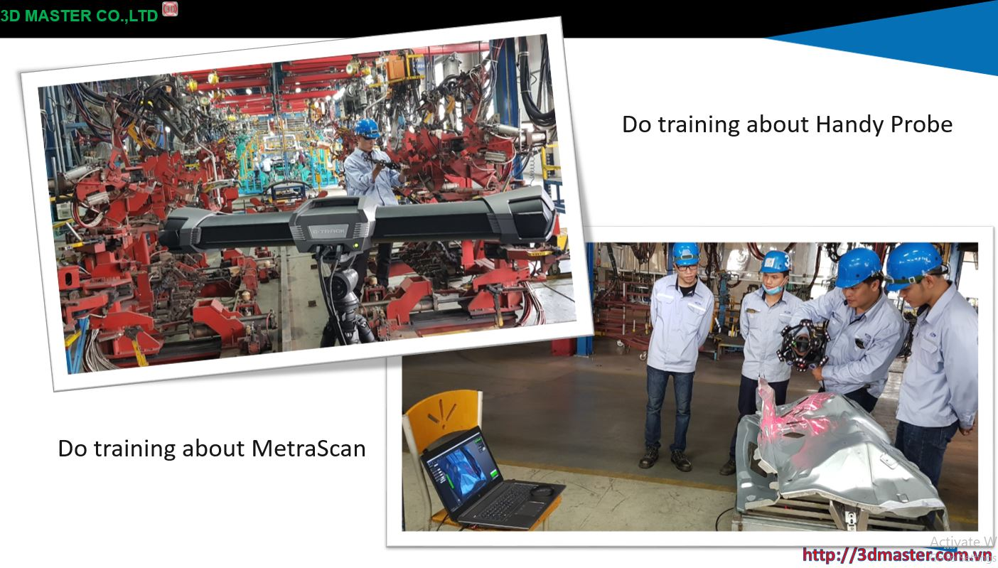 transfer technology metrascan3d