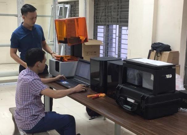 chuyên giao công nghệ scan 3d- in 3d mỹ thuật