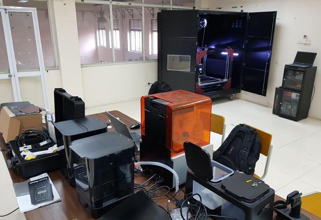 dự án đầu tư công nghệ 3d