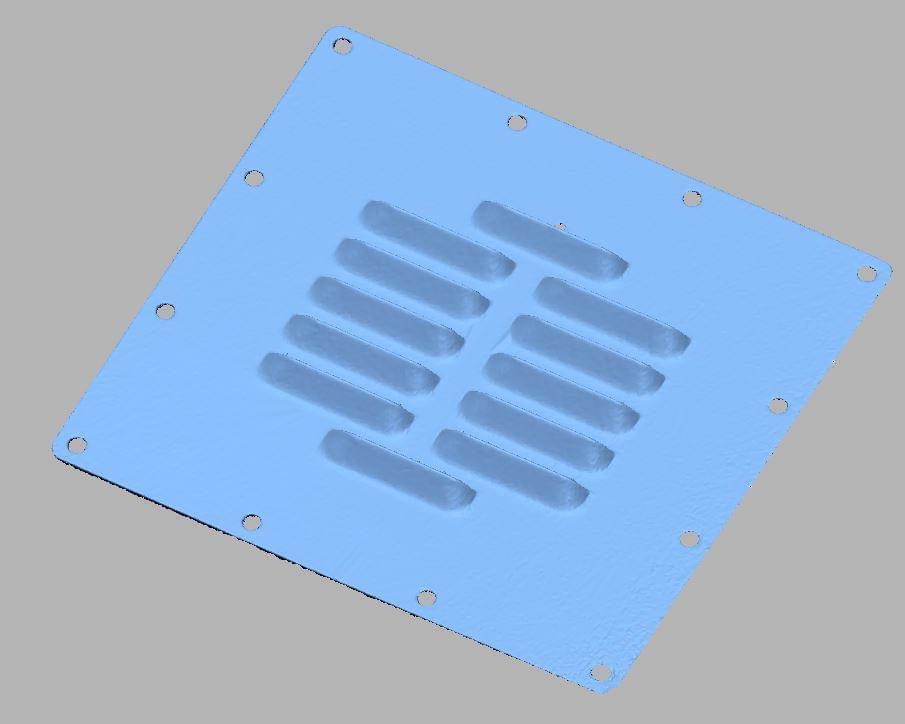 scan 3d inox