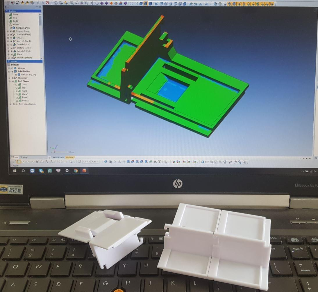 scan 3d khuôn nhựa