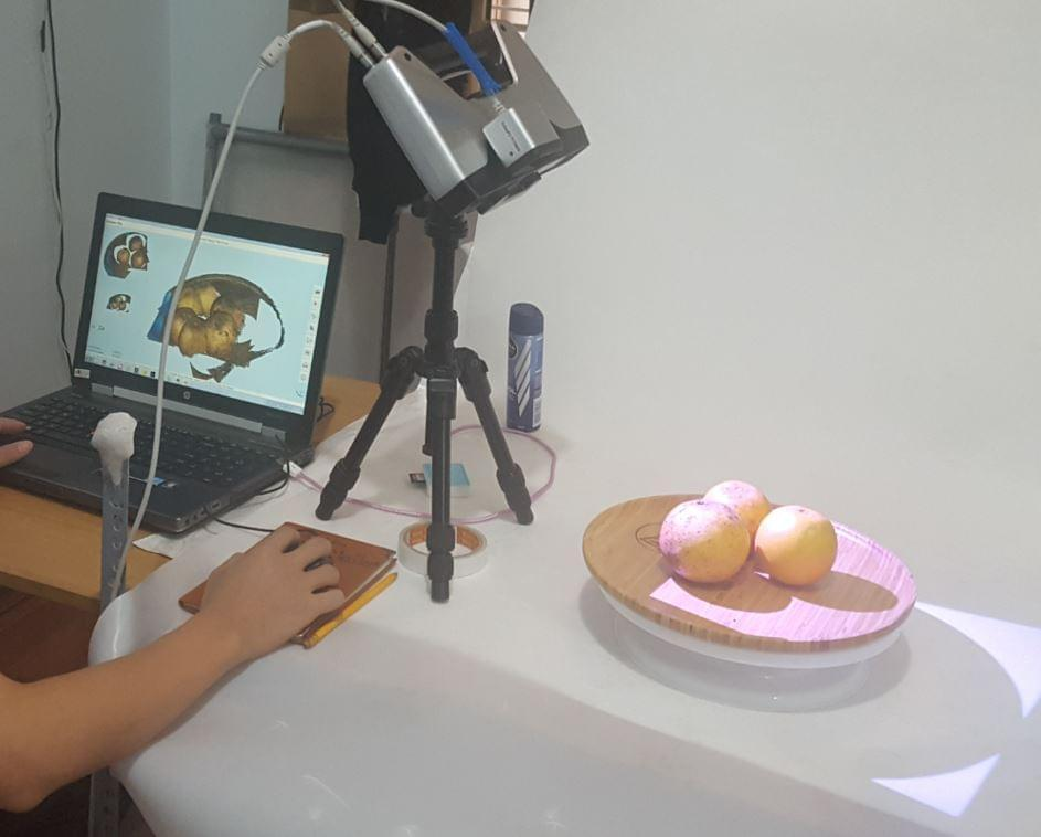 scan 3d food
