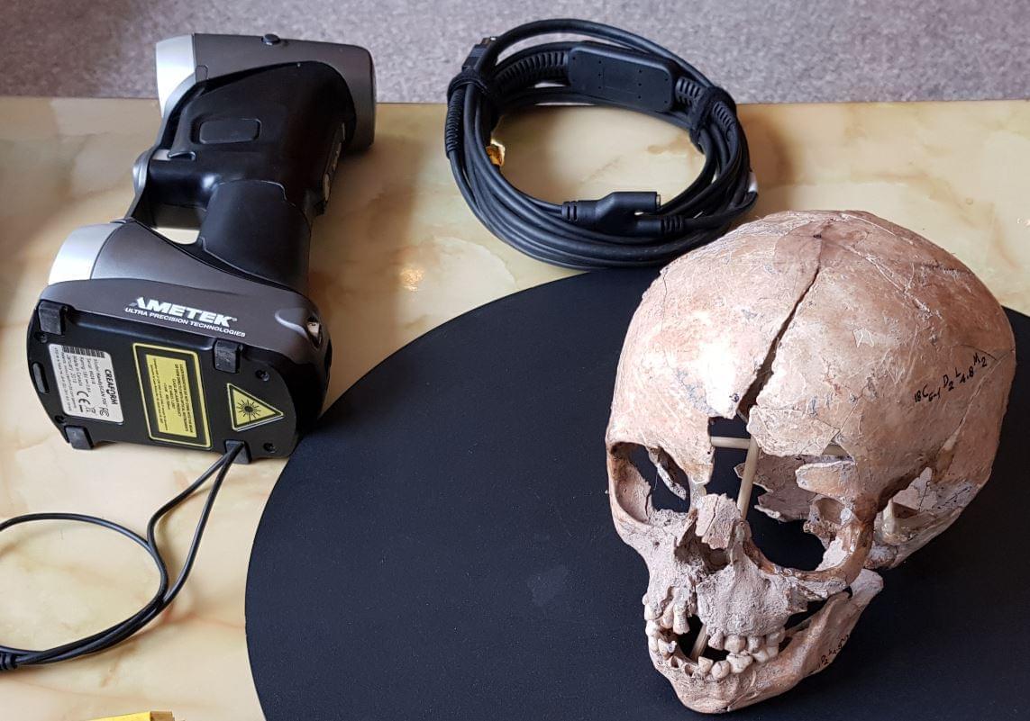 kết quả scan 3d sọ 6000 tuổi