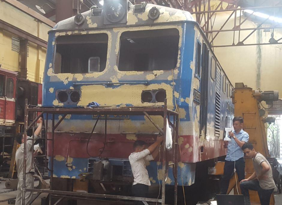 scan 3d tàu lửa việt nam