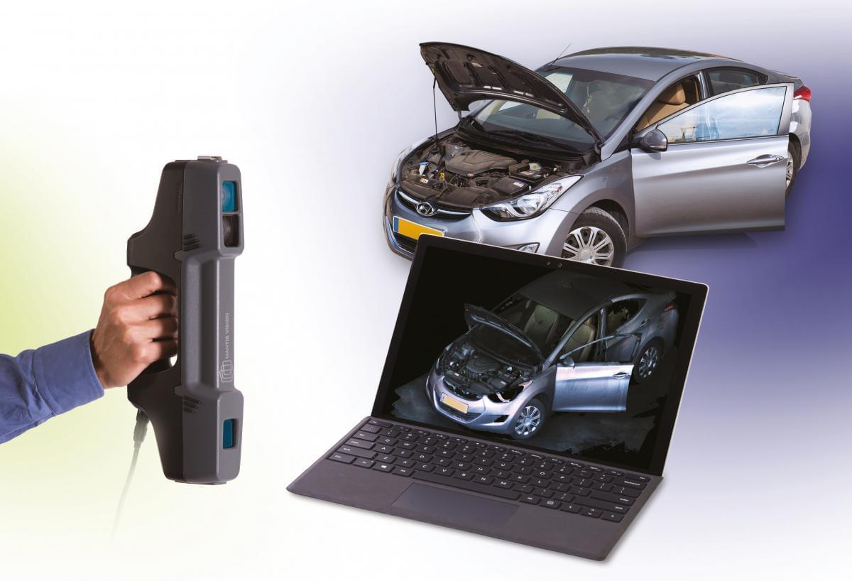 F6 SMART, specializes in ultra high, ultra fast 3d scan