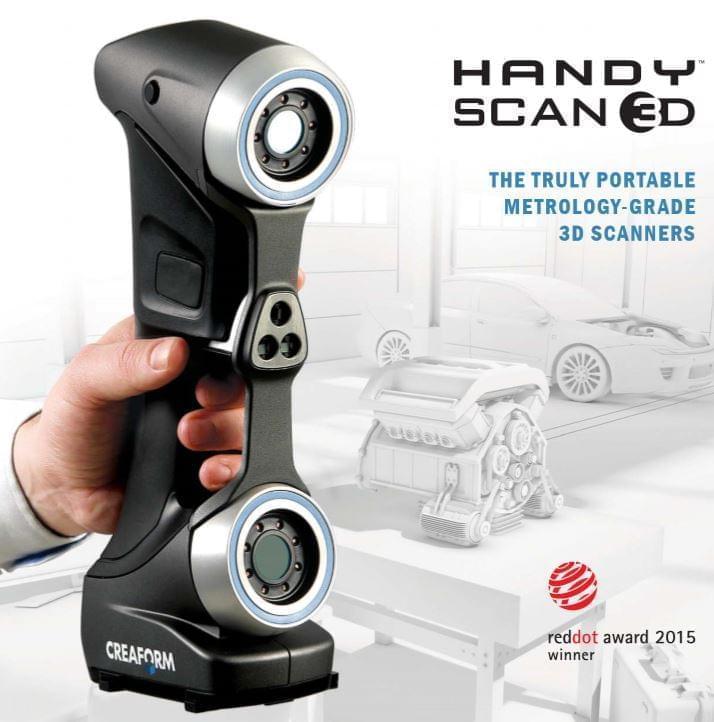 The Creaform HANDYSCAN 700 ™ handheld scanner