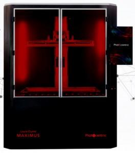 Máy in 3D resin nhập khẩu UK, 920 X 510 X 800 mm