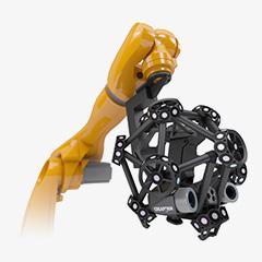 Máy scan 3D kết hợp đầu đo dạng Robot
