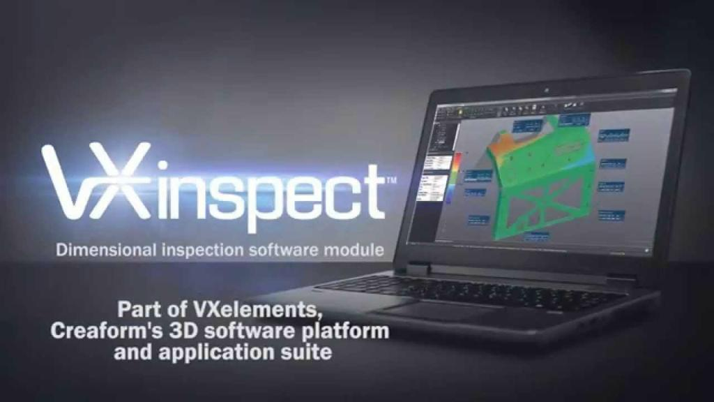 3D Creaform VXinspect software