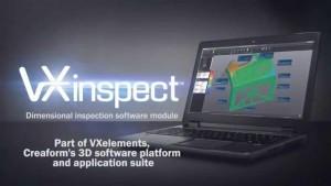 Phần mềm kiểm tra 3D Creaform VXinspect