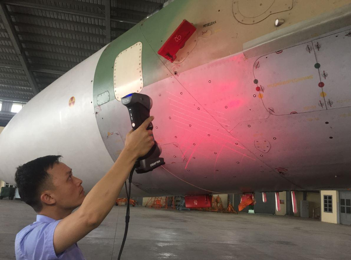 Phần mềm đo kiểm 3D bề mặt máy bay SmartDENT 3D SOFTWARE